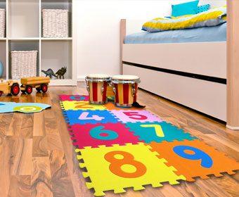 Por qué los pisos de Foami para bebés son tan populares entre los papás
